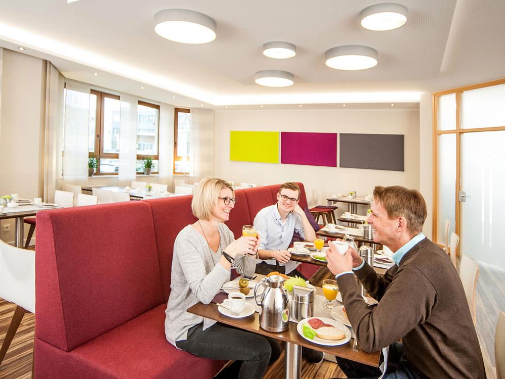 Frühstücksbuffet im Hotel Hollmann in Halle Westf.