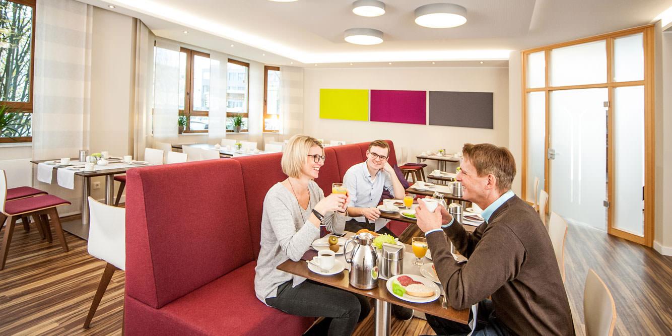 Hotel Hollmann in Halle Westf., Frühstücksbuffet