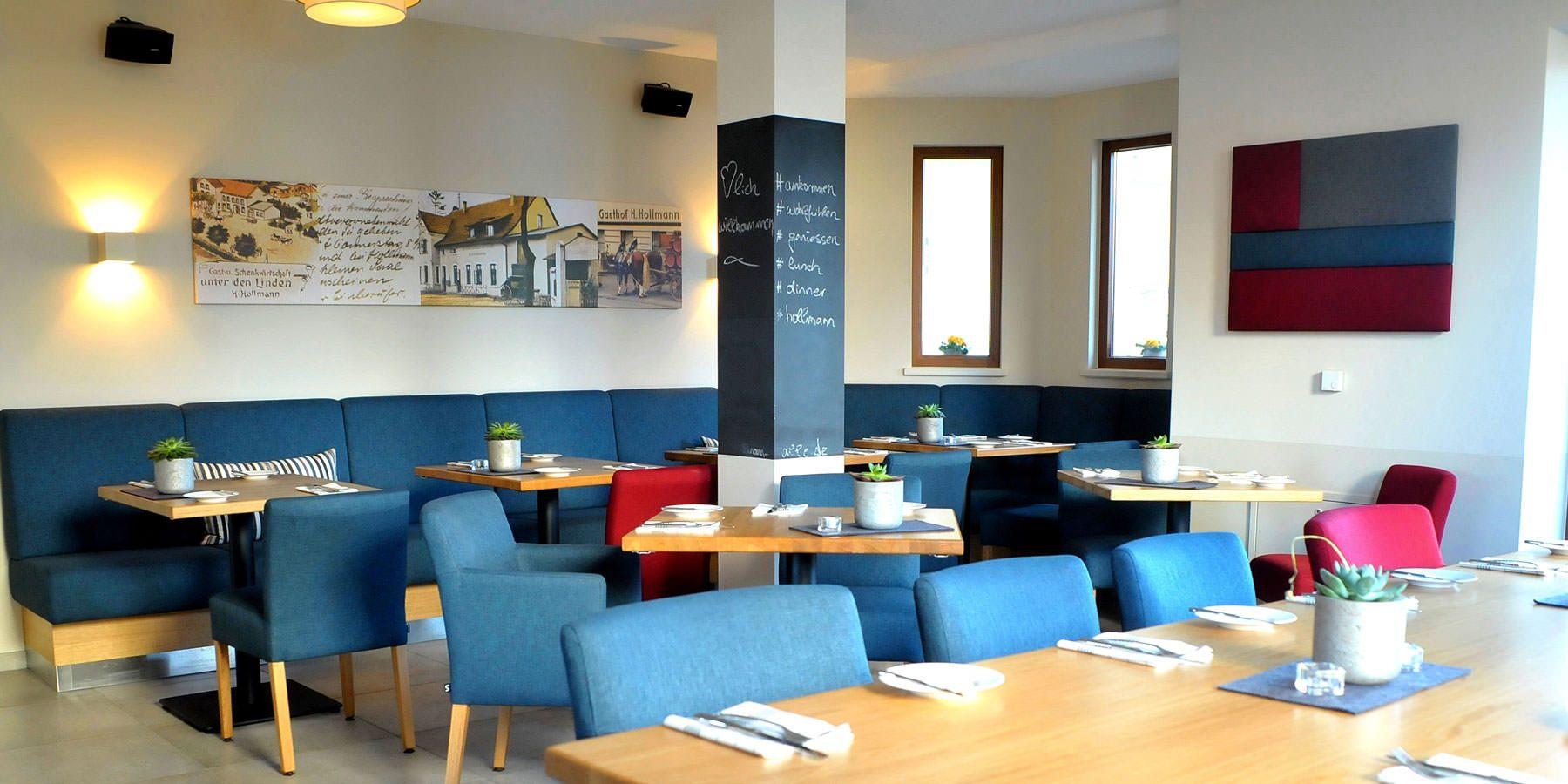 Restaurant und Hotel Hollmann in Halle Westf., Sitzbereich